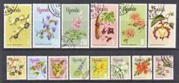 Uganda 115+  (o)  FLOWERS - Uganda (1962-...)