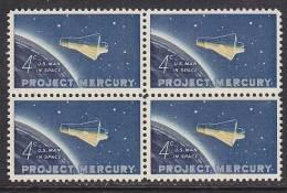 U.S. 1193X4    **   SPACE  PROJECT MERCURY - United States