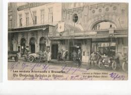 6151 BRUXELLES Allemand Hôtel Croix-rouge - Cafés, Hôtels, Restaurants