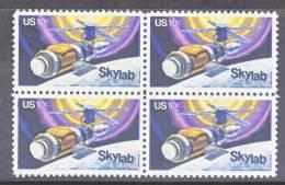 U.S. 1529 X 4  **  SPACE  SKYLAB - United States