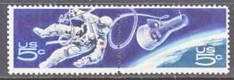 U.S. 1332b   **  SPACE  GEMINI  CAPSULE  SPACEWALK - United States