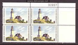 U.S. 1391 X 4   **  LIGHTHOUSE - United States