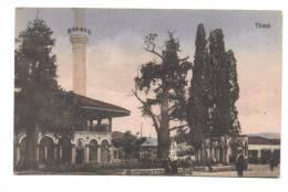 ALBANIA - TIRANA - INIZI 900 - PIAZZA CON MOSCHEA - Albanie