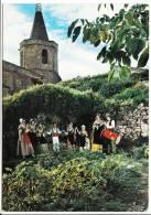 Carte ( Format 15 X 10,5 Cm ) De Malemort Du Comtat  L' Escandihado Groupe Folklorique ( Recto Verso ) - Autres Communes