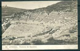 GREECE GRECE ATHENS ATHENES THEATRE DE BACCHUS -G - Grecia
