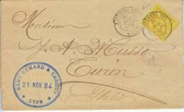 France Cover  1884 - 1876-1898 Sage (Type II)