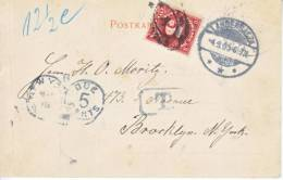 U.S. Postage Due Cover  1900  From  Germany  LANGENSALZA - United States