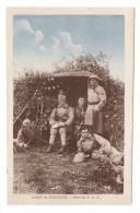 AISNE  /  CAMP  DE  SISSONNE  /  POSTE  DE  T.S.F.  ( Télégraphie Sans Fil, Militaires ) /  Edit.  POTTELAIN-GOUX - Sissonne