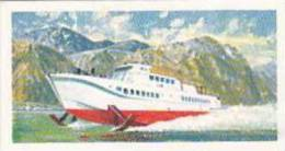 Brooke Bond Tea Vintage Trade Card Transport Through The Ages 1966 No 46 Hydrofoil - Tea & Coffee Manufacturers