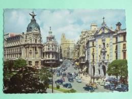 MADRID - Calle De ALCALA Y Avenida De José ANTONIO - Madrid