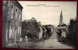 Cpa  Du  53  Saint Germain D' Anxure  Arrivée Route De Montgiroux  PUO6 - France