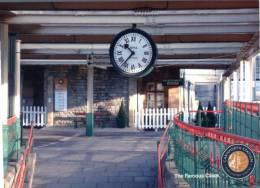 (101) Railway - Train - Canadian Famous Clock - Stazioni Senza Treni