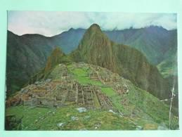 CUZCO - Vista Panoramica De Machupicchu - Peru