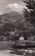 MASSAT : Rare Clichéde 1957,Vue Générale Du Village ,tbetat,joli Timbre Au Verso. - Otros Municipios