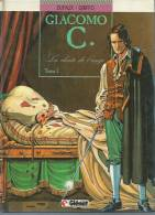"GIACOMO C.  "" LA CHUTE DE L'ANGE ""  -  DUFAUX / GRITTO -  E.O.  AVRIL 1989  GLENAT - Giacomo C."
