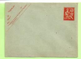ENTIER -  Yvert 117 - E 5 _ 123 X 96 MOUCHON - Standard- Und TSC-Briefe (vor 1995)