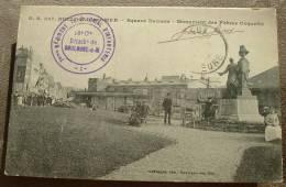 BOULOGNE SUR MER - Square Daunou - Monument Des Frères Coquelin Cachet 16ème Cie - Boulogne Sur Mer