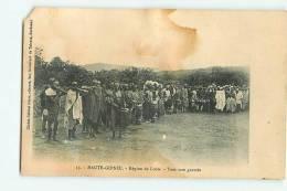 Haute Guinée : Région De Loola, Tam Tam Guerzès . 2 Scans. Edition Gobinet - Guinée Française