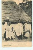 KANKAN : Famille Indigène. 2 Scans. Edition G Et C - French Guinea