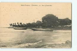CONAKRY : Port De Boulo Biné. 2 Scans. Edition Desgranges Et Decayeux - Guinée Française
