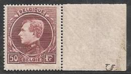 BELGICA 1929/32 - Yvert #291 - MNH ** - 1929-1941 Big Montenez