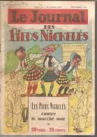 LE JOURNAL DES PIEDS NICKELES N° 3 Sept 1948 PELLOS - Pieds Nickelés, Les