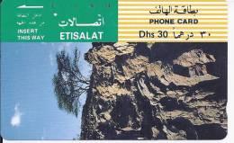 Télécarte ETISALAT - Emirats Arabes Unis - Dhs 30 - Emirats Arabes Unis