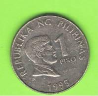 FILIPINAS - PHILIPPINES -  1 Piso 1995  KM269 - Filipinas