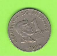 FILIPINAS - PHILIPPINES -  1 Piso 1996  KM269 - Filipinas