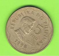 FILIPINAS - PHILIPPINES -  5 Piso  1998   KM272 - Filipinas