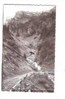SIXT. - La Route Du Col D'Anterne. - Sixt-Fer-à-Cheval