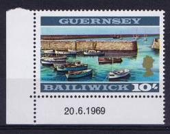 Guernsey: 1969 Mi 22B MNH/**