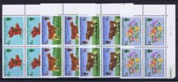 Guernsey: 1970 Mi 31-34 MNH/**, Cornerblocks