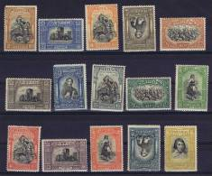 Portugal: 1927, Mi 440-454, 15 C And 160 C Gum Bends At Back, MNH/** - 1910-... Republiek