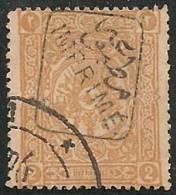 TURQUIA 1892 - Yvert #10 (Journaux) - VFU - 1858-1921 Imperio Otomano