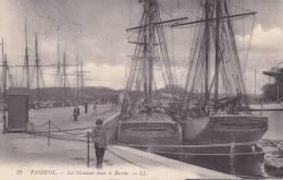 ¤¤  -   57   -  PAIMPOL   -   Les Islandais Dans Le Bassin  -  Voiliers , Morutiers  -  Bateaux De Pêche   -  ¤¤ - Paimpol