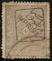 TURQUIA 1892 - Yvert #9 (Journaux) - VFU - 1858-1921 Imperio Otomano