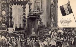 Drapeau Français Embrassé Par Le Pape Pie X à La Cérémonie De La Béatification De Jeanne D'Arc - 19 Avril 1909 - Unclassified