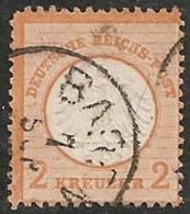 ALEMANIA 1872 - Yvert #8 - VFU - Usados