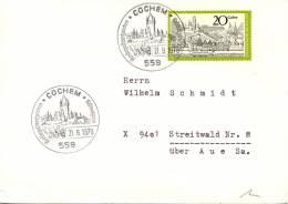 Cochem Special Postmark On Travelled Card - BRD