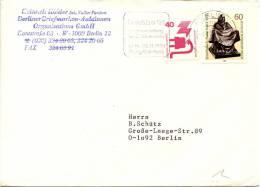 Belektro '91 Slogan Postmark On Travelled Letter Cover - Storia Postale
