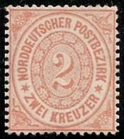 ALEMANIA 1869 (CONFEDERACION DEL NORTE) - Yvert #19 - MLH (*) - Conf. De L' All. Du Nord