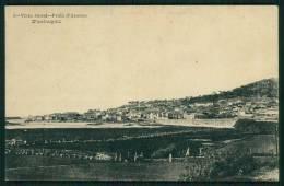 VILA PRAIA DE ANCORA / VIANA DO CASTELO / PORTUGAL  - Postal Vistra Geral Da Praia De Ancora. Old Postcard - Viana Do Castelo