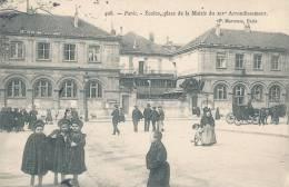 PARIS XIV° - Ecoles, Place De La Mairie - Arrondissement: 14