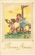 Illustration Avec Enfants. - Nouvel An