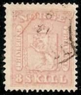 NORUEGA 1863 - Yvert #9 - VFU - Noruega