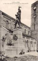 LION SUR MER - Le Monument Du Souvenir Francais Aux Morts De 1870    (55670) - Autres Communes
