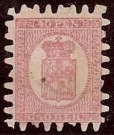 FINLANDIA 1866/70 - Yvert #9 - Mint No Gum (*) - Nuevos