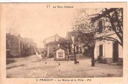 81 TARN PARISOT La Mairie Et La Ville  724 - Lisle Sur Tarn