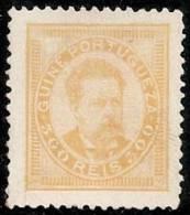 PORTUGAL/GUINEA 1886 - Yvert #33 - Mint No Gum (*) - Guinea Portoghese